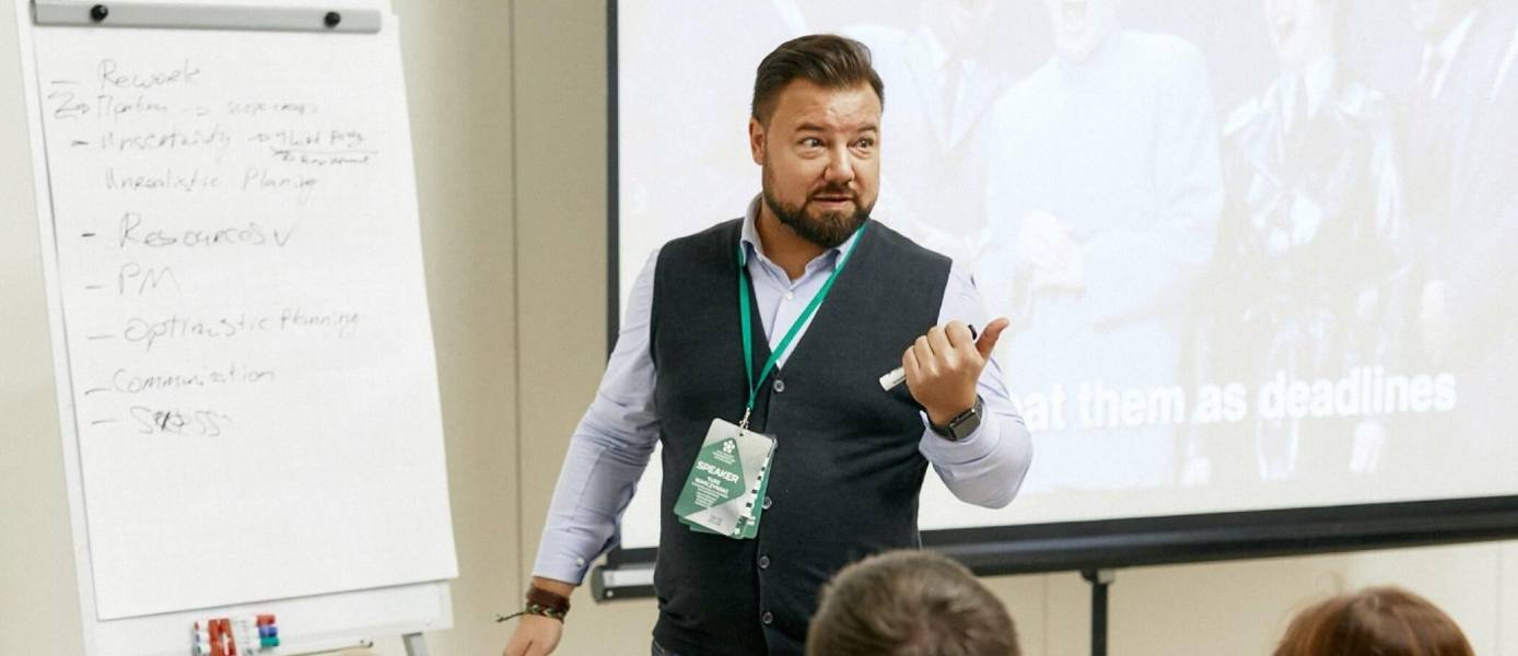 Yuri Warczynski Speaks at PMDay 2018