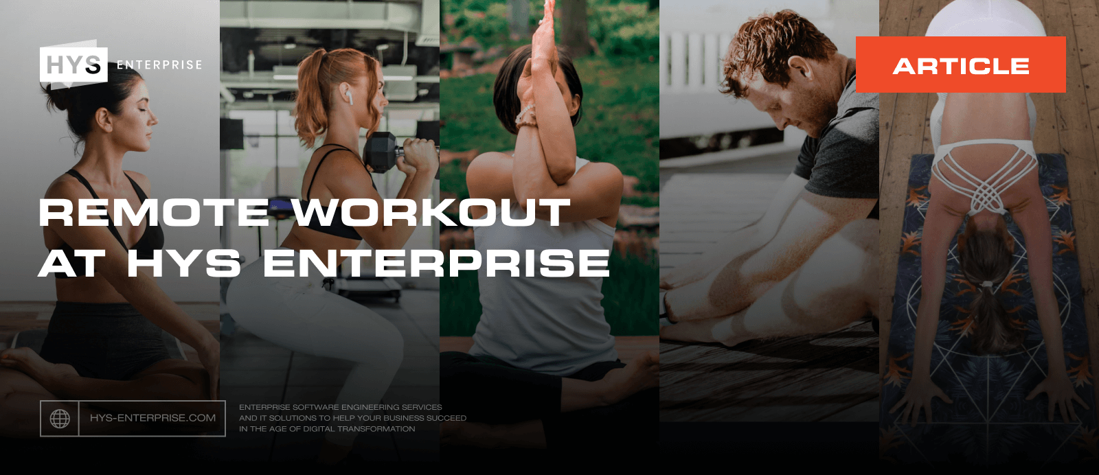 Remote Workout at HYS Enterprise