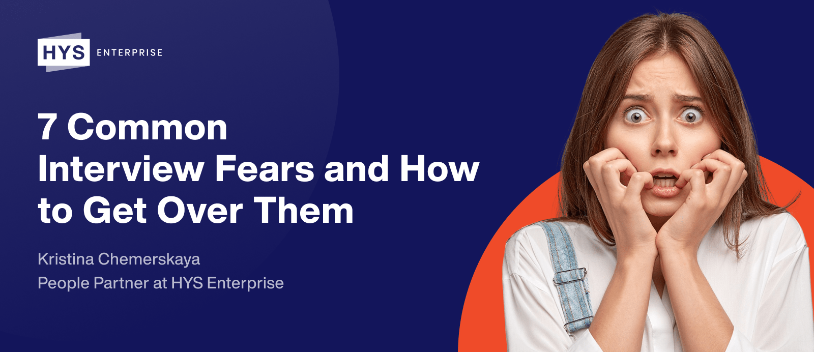 7 Common Interview Fears and How to Get Over Them