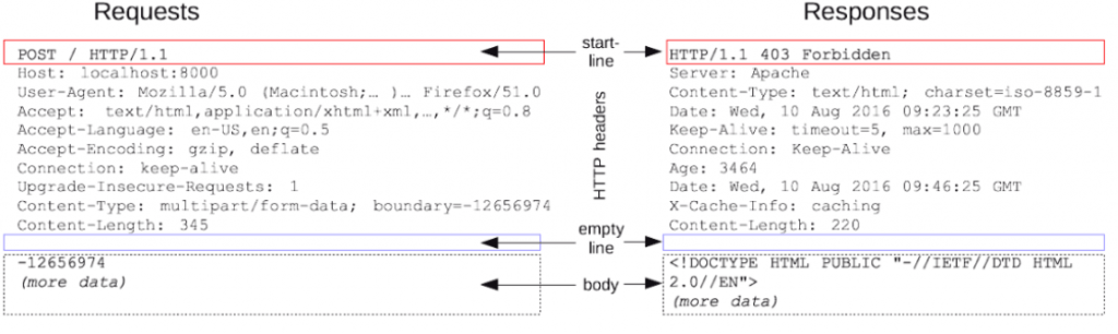 HTTP Requests Structure
